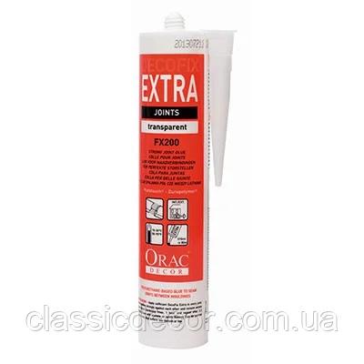 Клей для стыков Orac Decor DecoFix Extra FX200, лепной декор из полиуретана