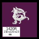 Панно настенное, декоративное из полиуретана.  1420R Home Decor, лепной декор из полиуретана